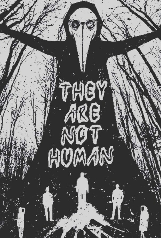 They Are Not Human Horror poster