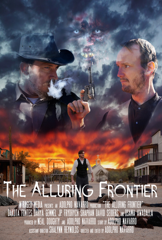The Alluring Frontier Horror Poster