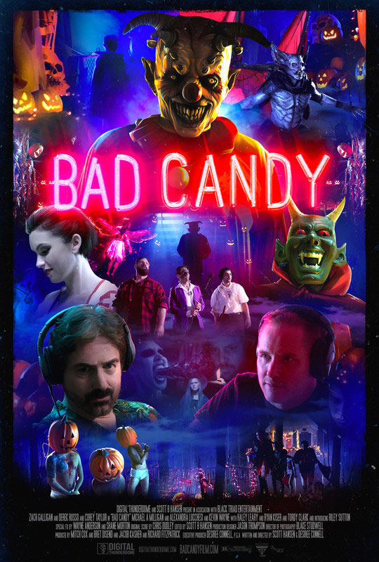 Bad Candy Horror poster