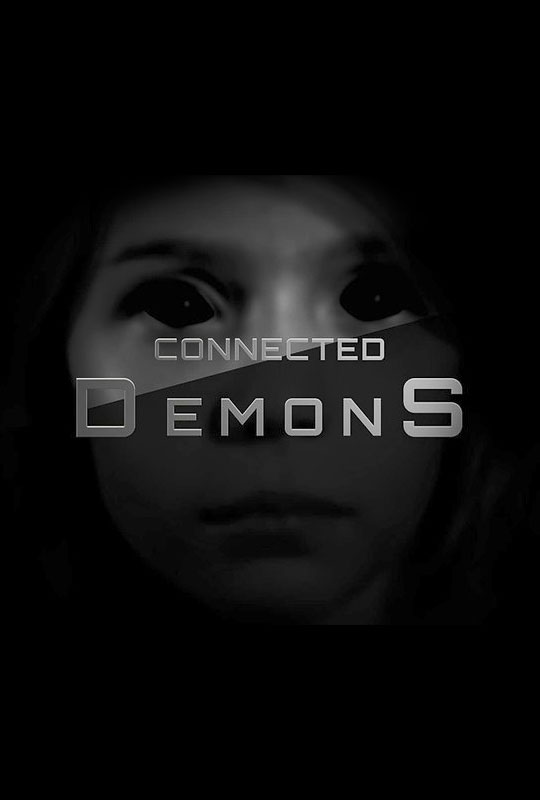 Connected Demons Horror PosterPoster