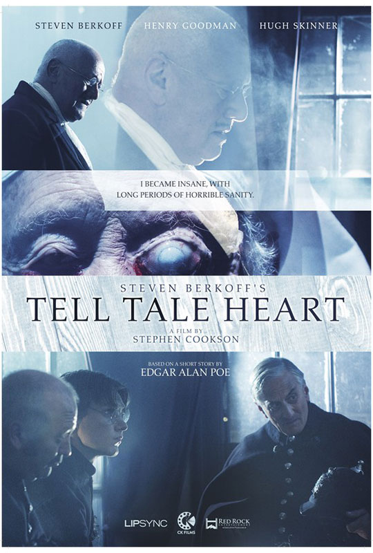 Tell Tale Heart horror poster
