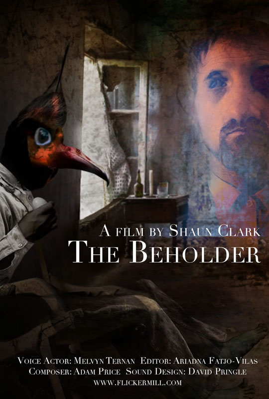 The Beholder Horror Film Poster