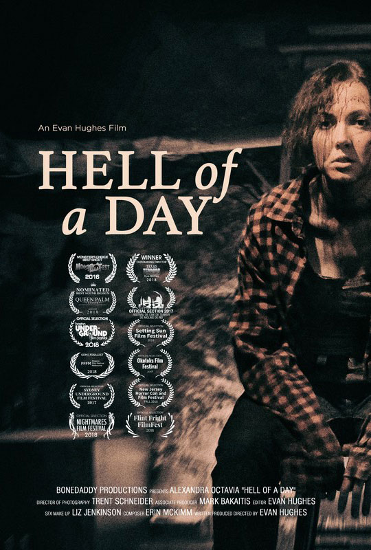 Hell of a Day Poster