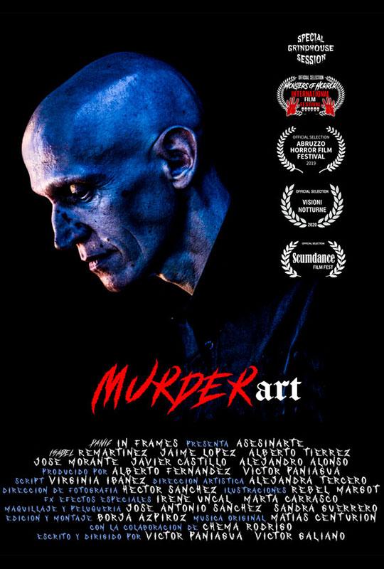 Murderart poster